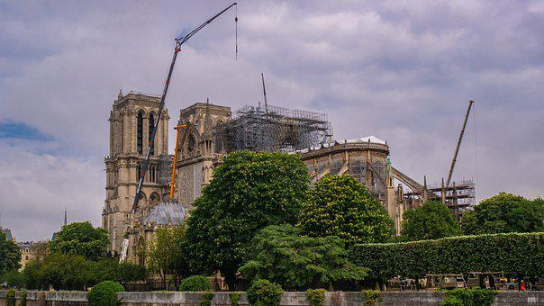 Notre Dame Is Damaged, Places Of Interest, Historically