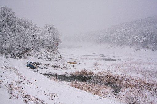 Snow, Landscape, Atmosphere, Travel, Korea, Tourism