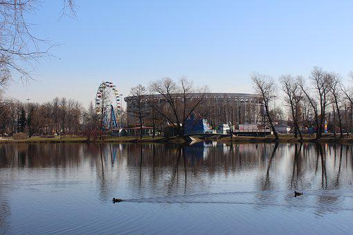 Petersburg, Sky, River, Nature, City, Water, Park, Lake