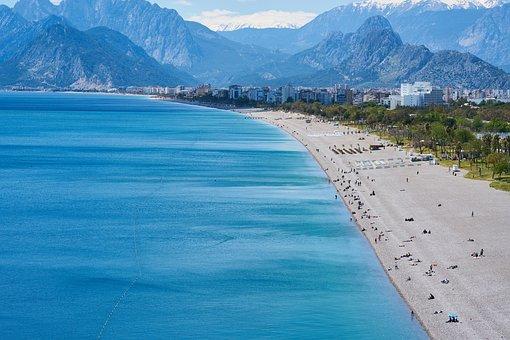 Beach, Tourism, Landscape, Sky, Coastal, Paradise