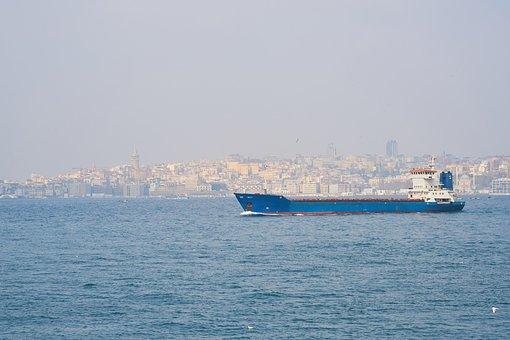 Istanbul, Turkey, Throat, Boats, Peace, Nature, Ship