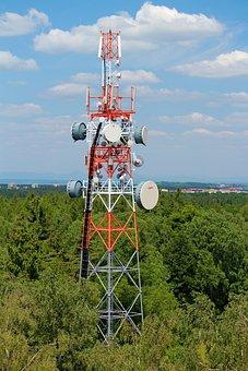 Tower, Mast, Transmitter, Vykrývač, Signal, Mobile
