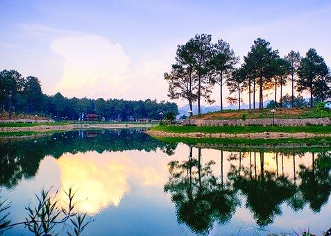 Bản áng, Mộc Châu, Vietnam, Travel, Natural, Green