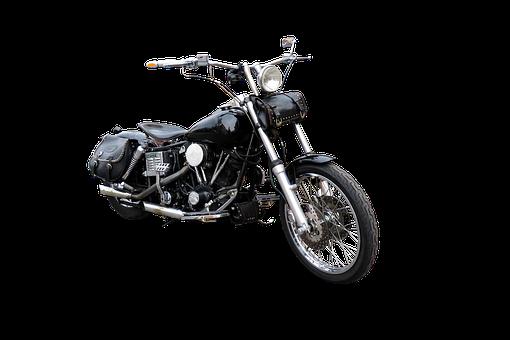 Traffic, Motorcycle, Vehicle, Isolated, Handlebars
