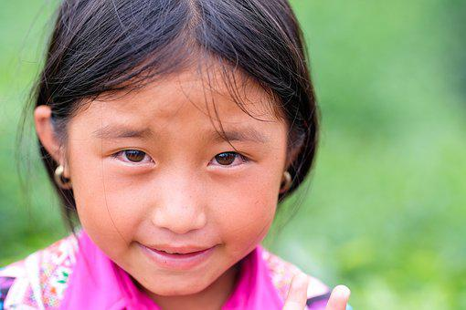 Kid, Vietnam, Smiles, Young, People, Asia, Kids