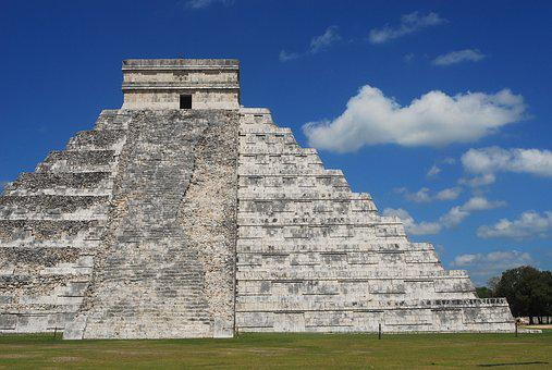 Maya, Mexico, Pyramid, Historical, Culture, Ancient