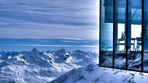 Mountains, Winter, Snow, Landscape, Spectre, James Bond
