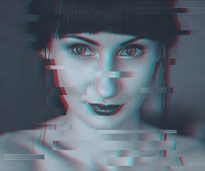Glitch, Portrait, Glitch Portrait, Glitch Art