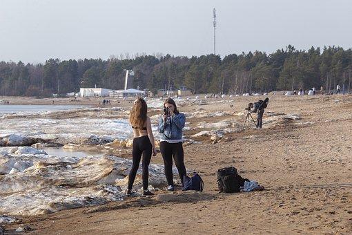 Piscinalis, Photographer, Beach, Beauty, Spring, Sand