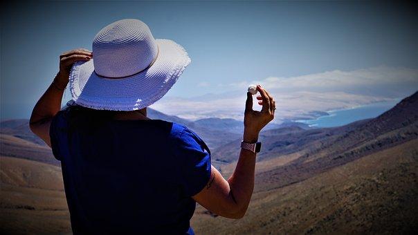 Woman, Hat, Sweetness, Seduction, Vacations
