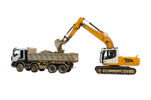 Vehicle, Excavators, Site, Shovel, Construction Machine