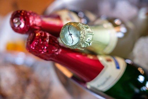 Champagne, Alcohol, Spirits, Bottles, Beverages