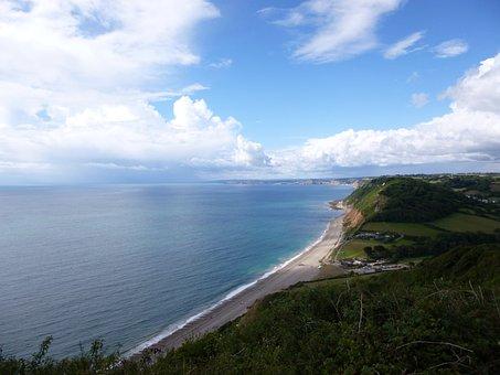 Sea, Beach, Holiday, Blue, Sky, Landscape, Summer