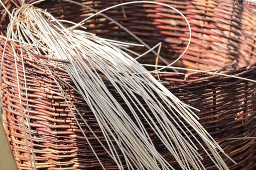 Basket, Wicker Basket, Woven, Weave, Hand Labor, Craft