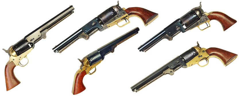 Colt 1851 Navy, Gun, Colt, West, Weapons, Revolver