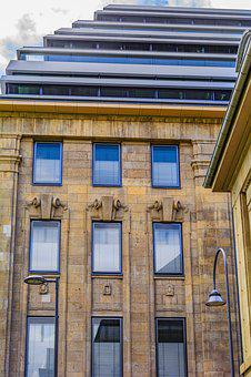 Building, Germany, Cologne, Facade, Architecture