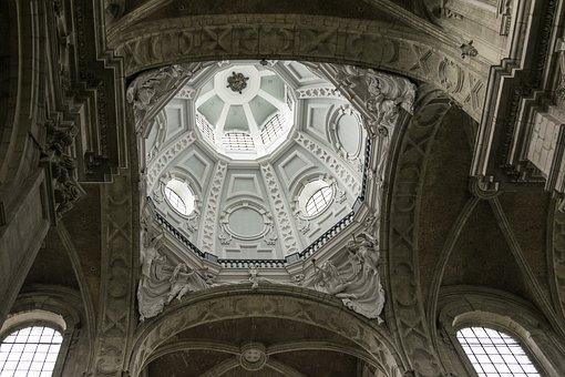 Church, Dome, Architecture, Religion, Abbey