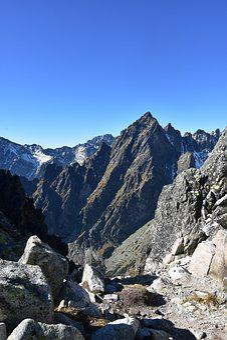 High Tatras, Lomnický štít, Slovakia, Mountains, Autumn