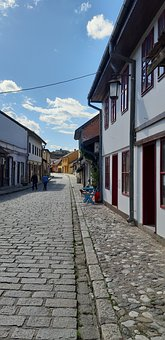 Old Town, Houses, Facade, Old, City, Oriental, Street