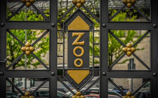 Fence, Input, Zoo, Metal, Iron, Goal, Wrought Iron