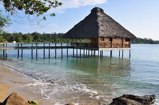 Panama, Bocas Del Toro, Archipelago, Island, Beach