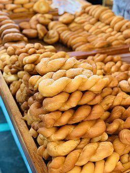 Pretzel, Cooking, Namdaemun Market, Food, Korean