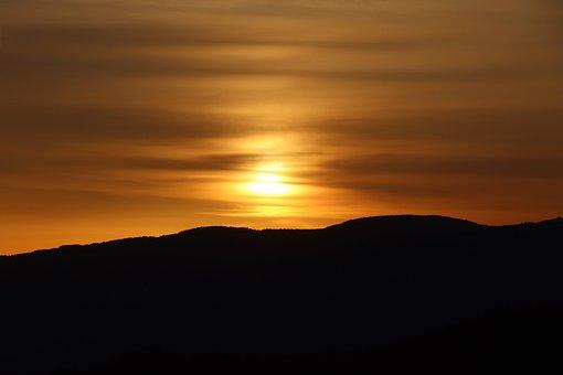Sunrise, Morning, Nature, Landscape, Sky, Rest, Sun