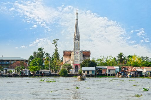 The Church, Neck, The Landscape, Architecture, Old