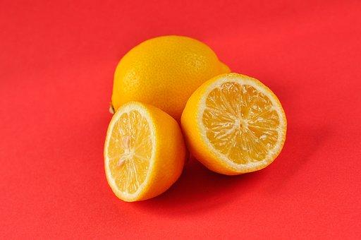 Lemons, Sour, Pink, Yellow, Fruit