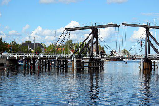 Greifswald Wieck, Ryck, Port, Wieck, Fishing Village