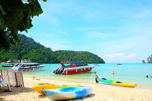Sea, Ship, The Island, Water, Ocean, Azure, Holidays