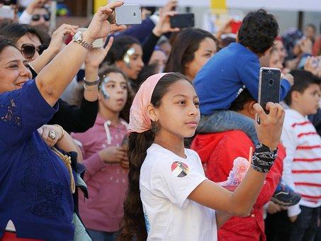 Mobile Phone, Selfie, Girl, Phone, Person, Summer