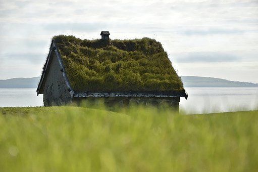 Stone House, House, Turf Roof, Green Roof