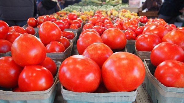 Vegetables, Tomatoes, Vegetable, Red, Food, Sweet, Ripe