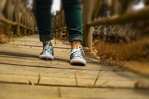 Walking, Shoes, Converse, Freedom, Walk, Activity