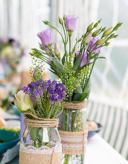 Flowers, Deco, Wedding, Vase, Decoration, Love, Romance