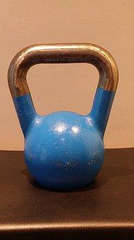 Kettlebell, Blue, 12kg