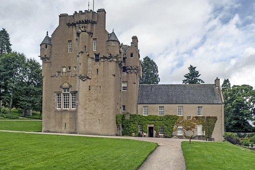 Crathes Castle, Castle, Banchory, Aberdeenshire