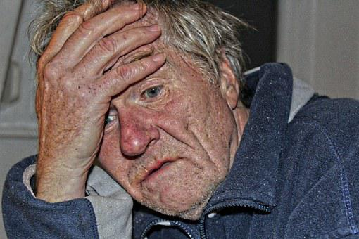Old People's Home, Dementia, Man, Old, Age, Alzheimer's
