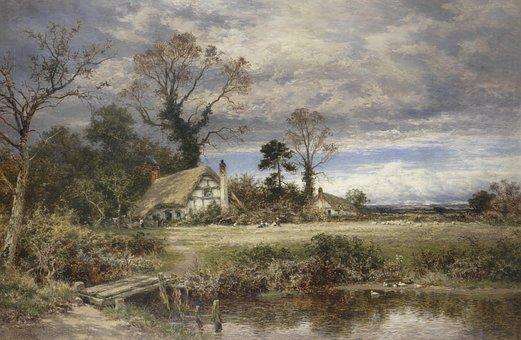 Benjamin Leader, Painting, Art, Artistic, Artistry