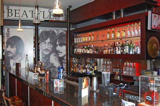 Hard Rock Cafe, Counter, Bar