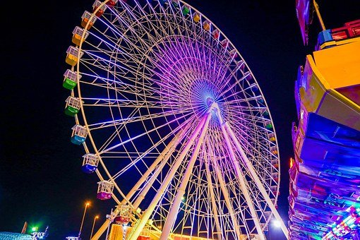 Giant Wheel, Beautiful Giant Wheel, Global Village