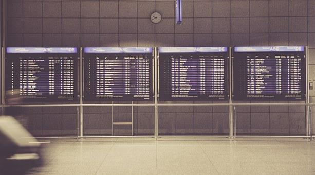 Airport, Travel, Business Trip, Global, Board