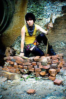 City, Bricks, Model, Alternative, Fashion, Fashionista