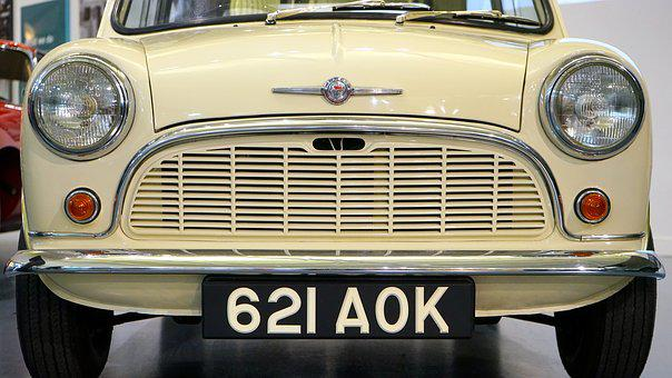Mini, Car, Hipster, Retro, Old Cars, Outdoors