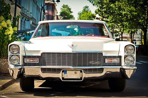 Auto, Cadillac, Oldtimer, Classic, Vehicle, Automotive