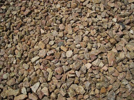 Stones, Gravel, Spread, Cover, Stone, Rock