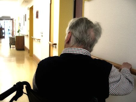 Old, Age, Dementia, Alzheimer's, Retirement Home