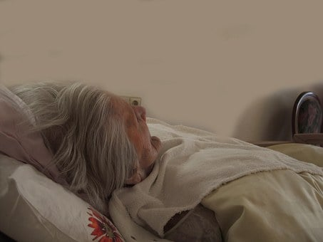 Woman, Old, Bed, Concerns, Dependent, Dementia, Age