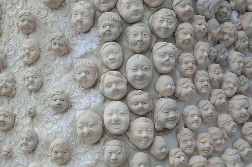 Faces, Mimic, Human, Emotion, Art, Feeling, Face